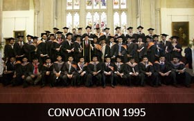 Convocation 1995